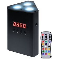 Novopro Trilighter 3 Battery Powered LED Parcan DJ Disco Stage Wash Light Effect