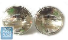 "1971-77 Guide Power Beam New OEM Headlights For 2 Headlight System 7"" Pair"