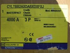 Square D Nw40H/Hf 4000 Amp Cradle / Chassis For Nw Masterpact Breaker -New-