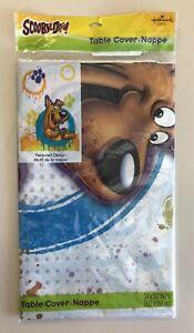 Scooby-Doo Table Cover • Nappe - Hallmark - New - Still In Original Plastic