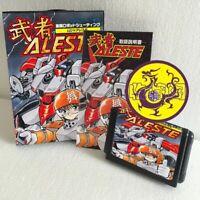 Aleste JP 16 bit SEGA MD Game Card Boxed With Manual Sega Mega Drive For Genesis