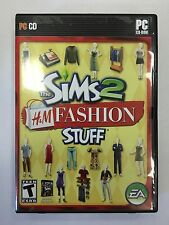 The Sims 2: H&M Fashion Stuff  (PC, 2007)  Complete w/Manual   Very Nice!