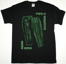TYPE O NEGATIVE DEAD AGAIN PETER STEELE CARNIVORE SEVENTH VOID NEW BLACK T-SHIRT