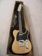 NEW COZART CUSTOM NATURAL WOOD TELE STYLE SIX STRING ELECTRIC GUITAR NW4
