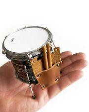 Drum Stick Bag - Leather Drumstick Bag & Drumsticks 1:4 Scale Model