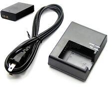 7.4v 2200mAh Li-ion Battery Pack+Charger for Canon LP-E10 LC-E10 LC-E10C LC-E10E