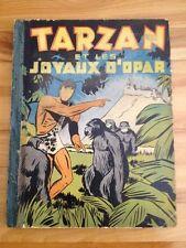 French Tarzan Et Les Joyaux D'opar , Oversize Book 1940's ( The Jewels Opar)