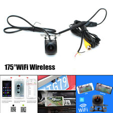 Car WiFi Wireless Rear View Cam Backup Reverse Camera For Android iOS Waterproof