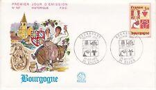 Enveloppe 1er jour FDC n°837 - 1973 : Dijon Palais des Ducs de Bourgogne