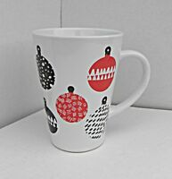STARBUCKS Christmas Coffee Mug Ornaments Balls 2016 17.24 OZ