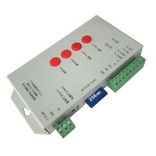 T1000S DMX 512 RGB LED Controller SD Card 4 WS2812B WS2801 SK6812 8806 1903 1819