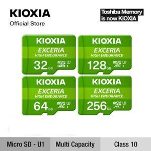 Kioxia EXCERIA High Endurance 32GB 64GB 128GB 256GB MicroSD SDHC SDXC Card TF U3