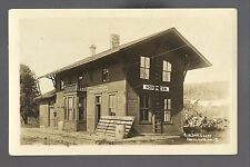 Nordness IOWA RP c1910 DEPOT C.R.I. & P. RR Train Station GHOST TOWN nr Decorah