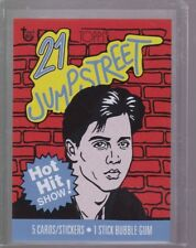 2018 Topps 80th Anniversary Wrapper Art Card #85 - 1987 21 Jump Street PR 198
