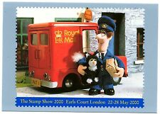 REDUCED PRICE 2000 POSTMAN PAT LABEL MINT PHQ CARD. ISSUED 21/03/2000. No D17