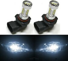 LED 80W 9005 HB3 White 5000K Two Bulbs Head Light High Beam Stock Fit Lamp