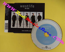 CD Singolo Westlife My Love 74321 802552 EU 2000 no lp mc dvd vhs(S31**)