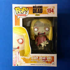 Funko Pop Walking Dead TEDDY BEAR GIRL #154 Vaulted