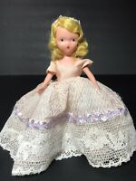 """Vintage Bisque Nancy Ann Storybook Doll, """"June Girl"""" #192 With Gold Wrist Tag"""
