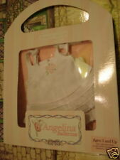 AMERICAN GIRL ANGELINA BALLERINA OUTFIT SWEET DREAMS PJ'S 2 PIECE SET NEW