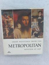GREAT PAINTINGS FROM THE METROPOLITAN MUSEUM OF ART  Abrams 1959 HC/DJ