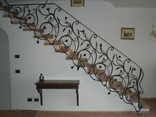 Wrought Iron RAILING. Personalised Executions. 004