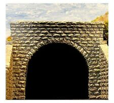 Chooch (N-Scale)  #9750 Tunnel Portal - Pkg of 2 - Double Track, Cut Stone - NIB