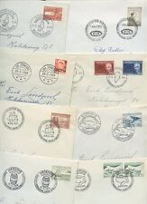 GREENLAND 1959-79 FIRST DAY COVERS...8 DIFFERENT