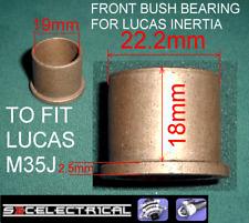 LUCAS M35G INERTIA  STARTER MOTOR BRUSHES BRUSH SET NEGATIVE ONLY TAB128 251108