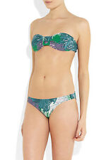 Used ! Gucci Printed Bandeau bikini, Sz Medium, 2 PIECE SWIMSUIT! Retails $550