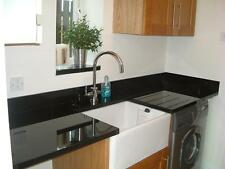 3 x lengths of Prem granite worktops supplied & fitted for £1245