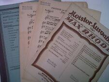 SALON ORCHESTRA parti M. Rhode Donizetti DIE favoritin
