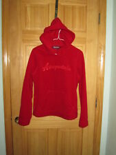 Womens Aeropostale Tomboy Fit Fleece LS Hoodie Sweater Shirt S M