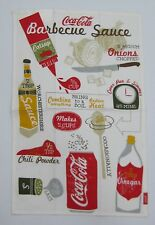 "Coca-Cola Dishtowel ""BBQ"" - NEW  FREE SHIPPING"
