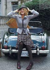 2004 Elegant Elevenses Scallop Tweed Multicolor Skirt Velvet Ribbon Skirt - 8