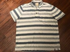 G.H. Bass Pullover Men's Striped Shirt Large