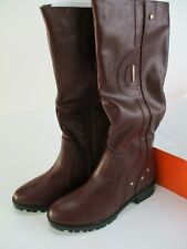 Charming Lady Burgundy Boots B903 Size US 7 Tall Riding Zip Up New Ships Free