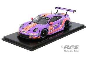 Porsche 911 RSR 24h Le Mans 2020 Project 1 wynns Keating 1:43 Spark 7988 NEU