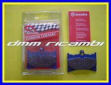 Pastiglie freno anteriori posteriori BREMBO CC KTM 125 250 500 GS MX 125 87 1987