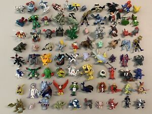 Digimon Minifigures lot of 80