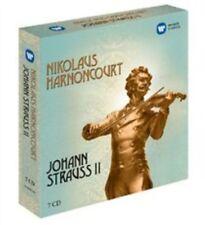 Nicholas Harnoncourt: Johann Strauss Ii (Limited Edition) [Box] [7CD], New Music