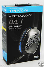 Afterglow LvL 1 Chat Gaming Headset mit Mikrofon für Sony Playstation 4 ps4-NEU