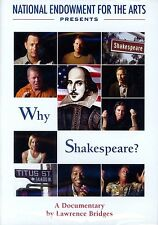 Why Shakespeare?  (DVD, 2004) National Endowment for the Arts..NEW