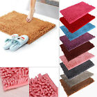 Microfibre Non Slip Soft Shaggy Absorbent Bath Bathroom Shower Rug Carpet mat
