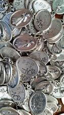 Catholic Italian Divine Mercy 10 Medal Lot + Bonus Holy Cards - FREE SHIPPING