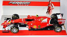Ferrari SF15-T F1 #7 Kimi Raikkonen 2015 rojo rojo 1:24 Bburago