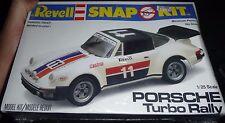 REVELL PORSCHE TURBO RALLY 1/25 SNAP KIT Model Car Mountain KIT FS