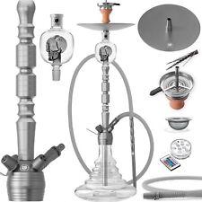 DILAW® OPAL Shisha Set 93cm Aluminium Alu Wasserpfeife Molassefänger Hookah NEU