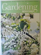 Gardening Which? Magazine. May, 1999. Blossom. Virtual water features.