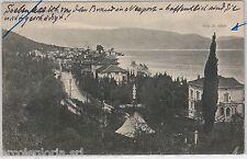 55763 -- CARTOLINA d'Epoca - LAGO di GARDA: Gardone Riviera  1913
